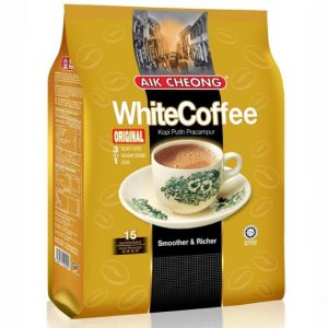 AIK CHEONG原味冲调白咖啡15条入600g/AIK CHEONG Original White Coffee 15pcs 600g