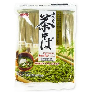 日本J-Basket上州抹茶拉面720g/J-Basket Japanese Green Tea Noodles 720g