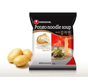 韩国Nongshim农辛土豆拉面单包装100g/Nongshim Potato Noodle Soup 100g