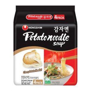 韩国Nongshim农辛土豆拉面4包装400g/Nongshim Potato Noodle Soup 4pk 400g