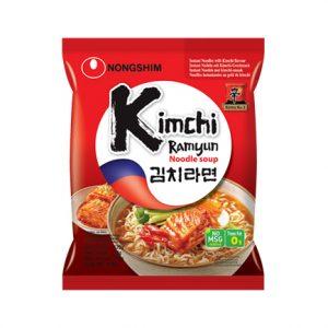 韩国Nongshim农辛泡菜拉面单包装120g/Nongshim Kimchi Ramyun Noodle Soup 120g