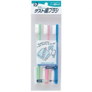 日本旅行装牙刷3支装