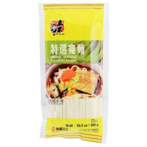 五木特选宽面300g/WUMU Broad Noodle 300g
