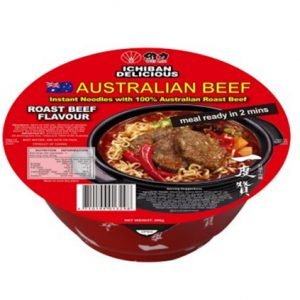 一度赞澳洲红烧牛肉面碗面200g/ICHIBAN Instant Noodles With Real Australian Roast Beef 200g