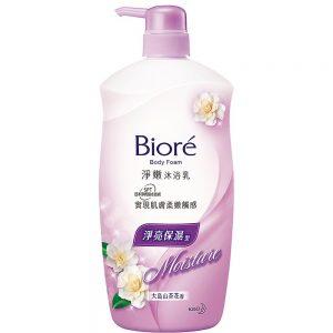 Biore净嫩沐浴乳净亮保湿型大岛山茶花香1L/Biore Body Foam Tea Flower Flavor1L