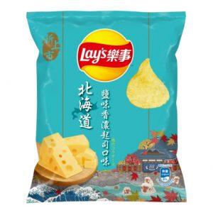 乐事北海道盐焗香浓起司口味薯片43g/Lays Hokkaido Cheese Flavor Potato Chips 43g