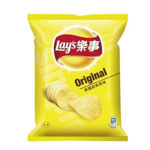 乐事美国经典原味薯片43g/Lays Original Potato Chips 43g