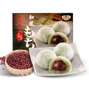 皇族和风特选艾草红豆麻薯210g/Royal Family Yomogi Red Bean Mochi 210g