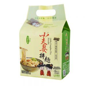 小夫妻拌面油葱香4包入492g/XFQ Dry Noodle Onion Flavor 4pk 492g