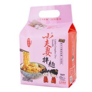 小夫妻拌面椒麻辣味4包入400g/XFQ Dry Noodle Spicy Papper 4pk 400g