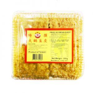 好味道特选火锅豆皮200g/HWD Fried Soybean Sheet 200g