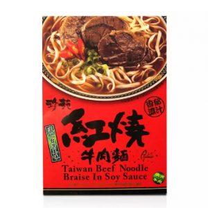 珍苑麻辣牛肉面盒装530g/ZY Spicy Beef Instant Noodle 530g