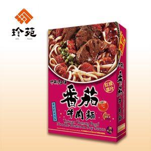 珍苑番茄牛肉面盒装530g/ZY Tomato Beef Noodle 530g