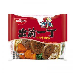 日本Nissin日清出前一丁红烧牛肉味单包装100g/Nissin Instant Noodle With Beef Flavor 100g