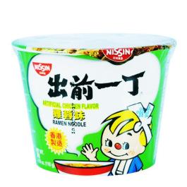 日清Nissin出前一丁鸡蓉味方便面碗面133g/Nissin Chicken Flavor Noodles Bowl 133g