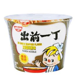 日清Nissin出前一丁XO酱海鲜味方便面碗面133g/Nissin Xo Seafood Sauce Noodle Bowl 133g