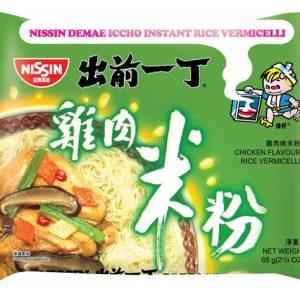 日本Nissin日清出前一丁鸡肉米粉100g/Nissin Instant Vermicelli With Chicken 100g