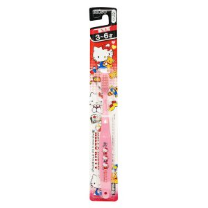 日本Ebisu Hello Kitty儿童牙刷一支/Ebisu Hello Kitty Toothbrush