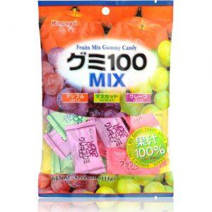日本Kasugai春日混合水果果汁软糖102g/Kasugai Fruit Gummy Candy 102g
