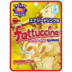 日本Bourbon雪碧味Q弹条形软糖50g/Bourbon Fettuccine Gummi Candy 50g