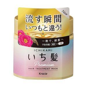 日本Kracie嘉娜宝ICHIKAMI高级发膜180g/Kracie ICHIKAMI Hair Mask 180g