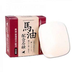 日本Horse Oil马油保湿洗颜皂80g/Horse Oil Soap 80g