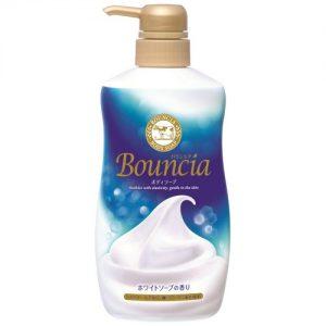 日本COW牛乳石鹼共进社 BOUNCIA浓密泡沫沐浴乳牛奶花香 500ml COSME大赏第一位/COW BOUNCIA Body Wash 500ml