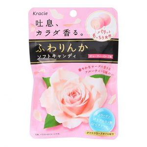 日本kracie嘉娜宝玫瑰香体糖果32g/Kracie Beauty Rose Soft Candy 32g