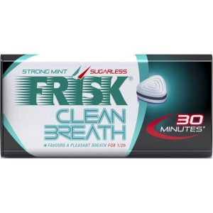 日本Kracie口气清新劲凉超强薄荷糖35g/Kracie Frisk Clean Breath Strong Mint 35g