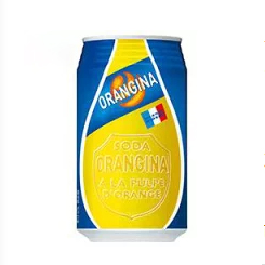 日本Orangina橘子苏打碳酸饮料340ml/Orangina Orange Soda Drinks 340ml