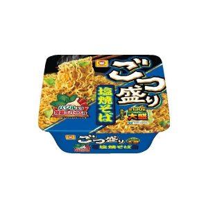 日本Maruchan大盛铁板烧蔬菜炒面130g/Maruchan Gotsumori Shio Yakisoba Reamen 130g