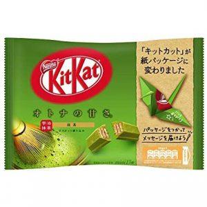 日本NESTLE雀巢KITKAT 夹心威化巧克力抹茶味147g/NESTLE Kit Kat Matcha Chocolate Flavor Stick 147g
