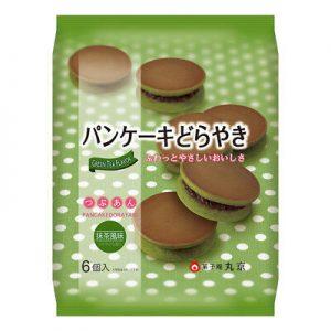 日本Marukyo红豆夹心抹茶铜锣烧6个入310g/Marukyo Green Tea Pancake Dorayaki 6pcs 310g