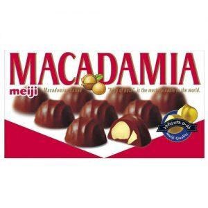 日本Meiji明治MACADAMIA榛子夹心巧克力64g/Meiji Macadamia Chocolate 64g