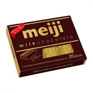 日本MEIJI明治至尊牛奶巧克力26个装120g/MEIJI Milk Chocolate 120g