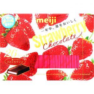 日本Meiji明治草莓巧克力26个入/Meiji Strawberry Chocolate 26pk