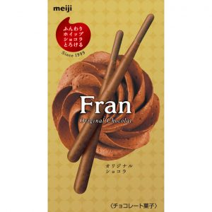 MEIJI明治FRAN浓郁巧克力涂层饼干棒41.4g/MEIJI Fran Chocolate Biscuits Sticks 41.4g
