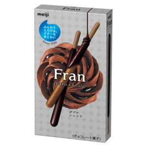 MEIJI明治FRAN双层巧克力饼干棒52.5g/MEIJI Fran Double Chocolate Biscuits Sticks52.5g