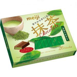 日本MEIJI明治至尊抹茶巧克力26个入120g/MEIJI Matcha Chocolate 120g