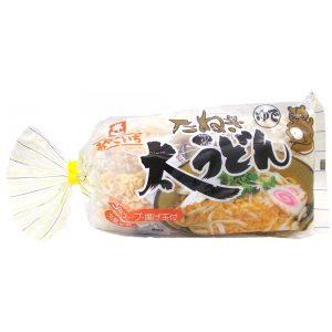 日本Miyakoichi都一Futo炒面3食入570g/Miyakoichi Futo Udon Tanuki 570g