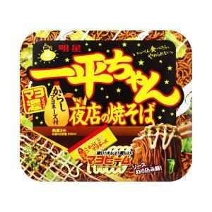日本明星一平夜店柯南推荐酱油美乃滋炒面135g/Myojo Ippeichan YAKISOBA Instant Fried Noodles 135g