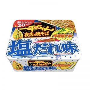 日本明星一平夜店美乃滋豚骨盐焗烧炒面132g/Myojo Ippeichan Salt Yakisoba with Garlic Pepper Mayonnaise 132g