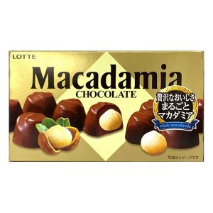 日本Lotte明治Macadamia榛子夹心巧克力67g/Lotte Macadamia Chocolate 67g