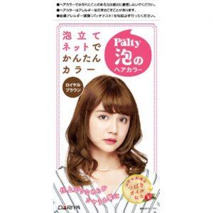 日本DARIYA PALTY泡沫染发剂#深棕色