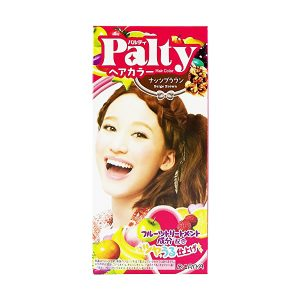 日本DARIYA PALTY泡沫染发剂#坚果色棕色