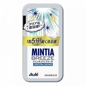 日本Asahi1粒5分钟清凉感MINTA薄荷糖100g/Asahi Minta Breeze 100g