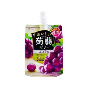 日本Tarami低卡蒟蒻吸吸果冻葡萄味150g/Tarami Kommyaku Jelly Grape Flavor 150g