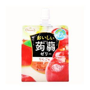 日本低卡纤体蒟蒻吸吸果冻苹果味150g/Kommyaku Jelly Apple Flavor 150g