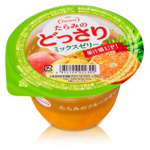 日本Tarami混合果汁果冻230g/Tarami Rich Mix Fruits Jelly 230g