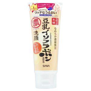 日本SANA莎娜豆乳美肌本铺超浓保湿洁面乳150g/Sana Nameraka Honpo Soy Isoflavone Cleansing Face Wash Moist 150g